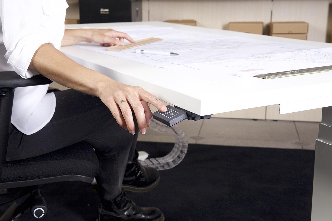 comando scrivania elevabile
